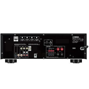 ヤマハ AVレシーバー 5.1ch/4K対応/Bluetooth内蔵 ブラック RX-V379 B ellies-os