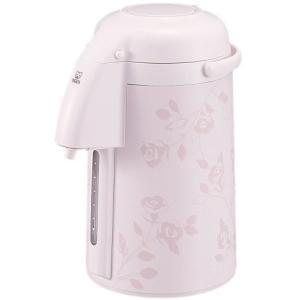 Home タイガー 魔法瓶 保温 卓上 エアー ポット 2.2L 水量計付き とら〜ず ピンク ロー...