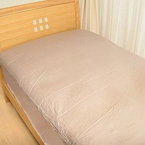 Home アレルガード カバーリング 防ダニ ベッド用ボックスシーツ シングルサイズ* (ラベンダー...
