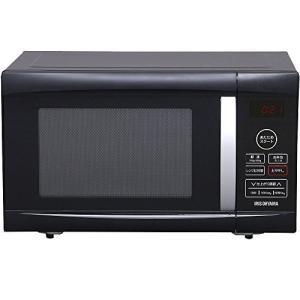 Kitchen アイリスオーヤマ 電子レンジ 22L ターンテーブル ヘルツフリー 全国対応 ブラッ...