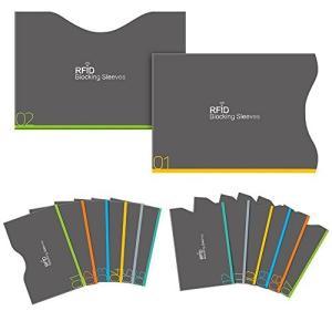 Office Product Aerb カードケース RFIDスキミング防止 薄型 防水 クレジット...