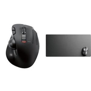Personal Computer エレコム ワイヤレスマウス トラックボール 6ボタン + 超大判...