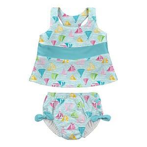 Baby Product アイプレイ I play 水着 ツーピースタンキニ ラッシュガードと水遊び...
