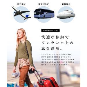 フットレスト 足置き 旅行 両足 独立 飛行機...の詳細画像4