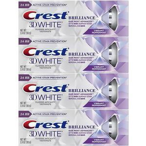 クレスト Crest 3D White Brilliance 2本セット ホワイトニング 歯磨き粉研...