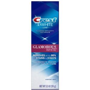 クレスト3Dホワイト グラマラスホワイトは歯の表面を磨き上げると共に、 新しい汚れから歯を守るホワイ...
