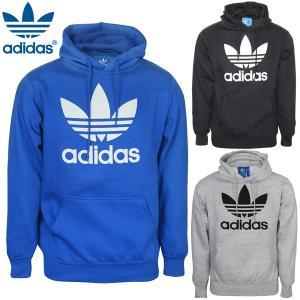 アディダス オリジナルス adidas Originals プルオーバー パーカー メンズ ファッション アウター ブラック/グレー/ブルー |elshaddai1020