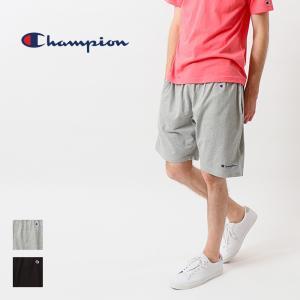 チャンピオン Champion ショートパンツ スウェット ロゴ 刺繍 ベーシック ショーツ ハーフパンツ C3-P501 elva