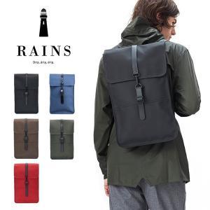 デンマーク発のレインウェアブランド RAINSを代表するモダンなバックパック。  撥水性のある軽くて...