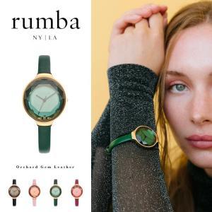 ルンバタイム Rumba Time 腕時計 レディース Orchard Gem Leather レザー おしゃれ ファッション ブレスレット 27532 27549 27563 27570 国内正規販売店|elva