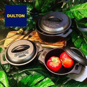 ダルトン DULTON  グラットン ラウンドポット S GLUTTON ROUND POT 両手鍋 鋳物 鋳鉄鍋  GS515-548S|elva