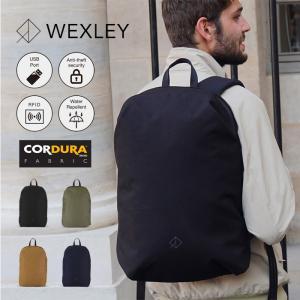 ウェクスレイ WEXLEY リュック バックパック URBAN アーバン CORDURA コーデュラ 耐水性 防犯 バッグ メンズ レディース 男女兼用|elva