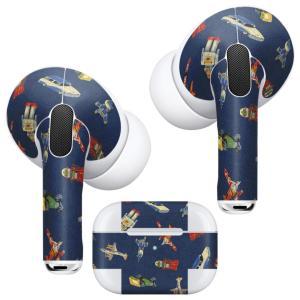 Air Pods Pro 専用 デザインスキンシール 対応 airpodspro エアポッドプロ apple アップル イヤフォン イヤホン  おもちゃ ロボット 車 010454|emart