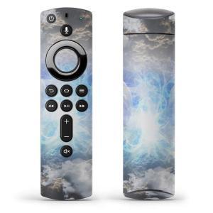 Fire TV Stick 第2世代 ファイヤー tv スティック リモコン専用スキンシール  空 羽根 雲 005712|emart