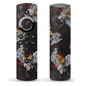 Fire TV Stick 第2世代 ファイヤー tv スティック リモコン専用スキンシール  和風...