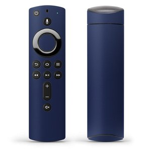Fire TV Stick 第2世代 ファイヤー tv スティック リモコン専用スキンシール  シンプル 無地 青 009010|emart