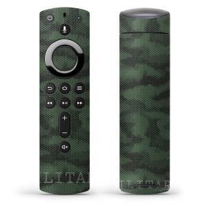 Fire TV Stick 第2世代 ファイヤー tv スティック リモコン専用スキンシール  迷彩...