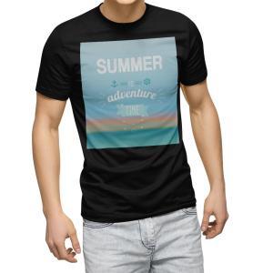tシャツ メンズ 半袖 ブラック デザイン XS S M L XL 2XL Tシャツ ティーシャツ ...