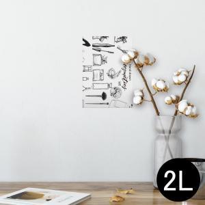 ポスター ウォールステッカー シール式 127×178mm 2L 写真 壁 インテリア おしゃれ w...