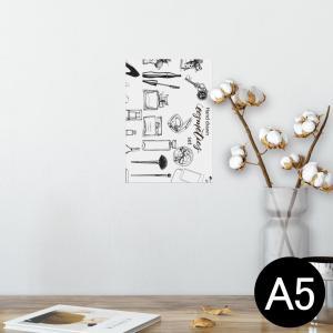 ポスター ウォールステッカー シール式 148×210mm A5 写真 壁 インテリア おしゃれ w...