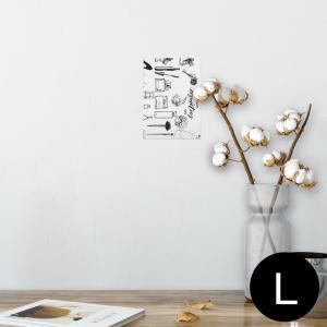 ポスター ウォールステッカー シール式 89×127mm L版 写真 壁 インテリア おしゃれ wa...