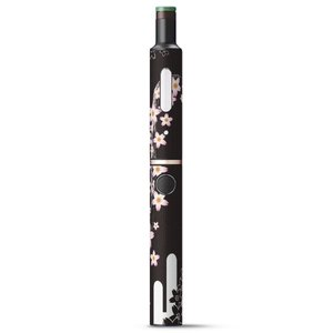 プルームテック ploom tech + Plus プラス 専用 デザインスキンシール フィルム ステッカー アクセサリー 電子たばこ 花 フラワー 和風 和柄 007381|emart