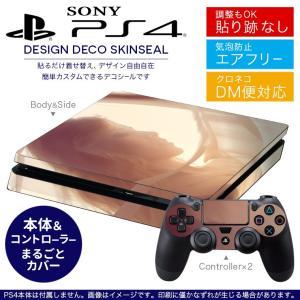 SONY 新型PS4 スリム 薄型 プレイステーション 専用おしゃれなスキンシール 貼るだけで デザインステッカー  011539
