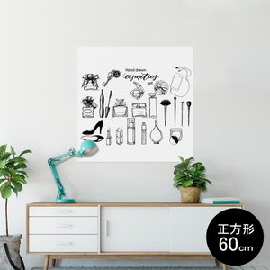 ポスター ウォールステッカー シール式ステッカー 飾り 60×60cm Msize 壁 おしゃれ 剥...
