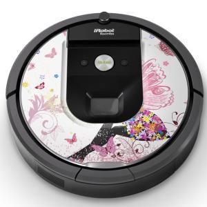 ルンバ Roomba iRobot 「960 980 対応」 専用スキンシール カバー 保護 フィル...