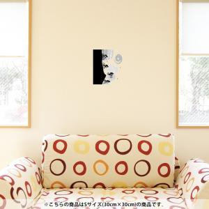 ウォールステッカー 飾り 30×30cm シール式 装飾 おしゃれ 壁紙 はがせる 剥がせる カッテ...