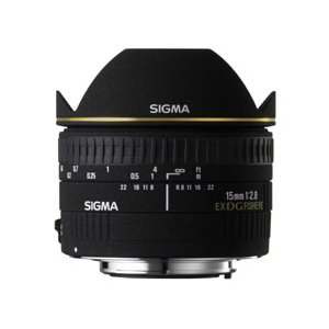 シグマ 15mm F2.8 EX DG DIAGONAL FISHEYE ニコン用|emedama