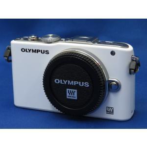並品 オリンパス PEN Lite E-PL3 ボディ ホワイトの商品画像|ナビ