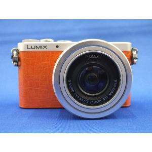 【中古】 【並品】 パナソニック LUMIX DMC-GM1K-D レンズキット オレンジ