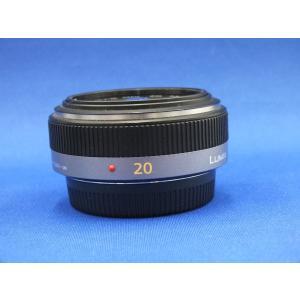 [送料無料][当社中古カメラ6ヶ月保証付き][交換レンズ][`パナソニックLUMIXG20mm/F1...