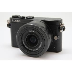 【中古】 【美品】 パナソニック LUMIX DMC-GM1K-K レンズキット ブラック