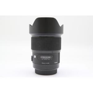 [あすつく][送料無料][当社中古カメラ6ヶ月保証付き][交換レンズ][sigma`シグマ20mmF...