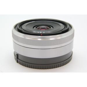 [あすつく][送料無料][交換レンズ][sony`NEX`NEX用`16/2.8`パンケーキ`広角`...
