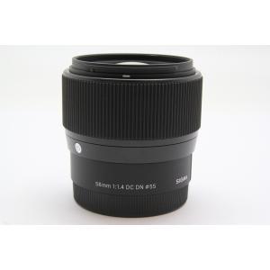 [あすつく][送料無料][当社中古カメラ6ヶ月保証付き][交換レンズ][`sigma`シグマ56mm...
