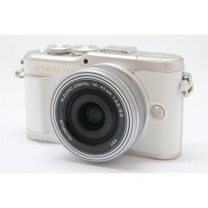 【中古】 【並品】 オリンパス PEN E-PL9 14-42mm EZレンズキット ホワイト