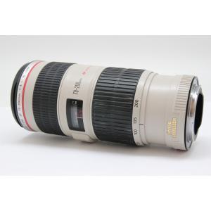 【中古】 【良品】 キヤノン EF70-200mm F4L IS USM