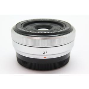 【中古】 【並品】 フジフイルム XF27mm F2.8 シルバー