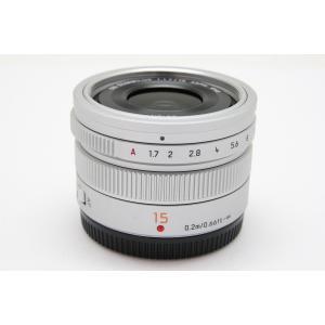 【中古】 【美品】 パナソニック LEICA DG SUMMILUX 15mm/F1.7 ASPH....