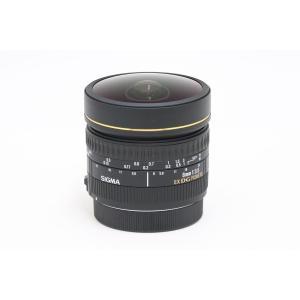 【中古】 【美品】 シグマ 8mmF3.5 EX DG CIRCULAR FISHEYE CANON