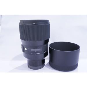 [送料無料][当社中古カメラ6ヶ月保証付き][交換レンズ][sigma`シグマ135mmF1.8DG...