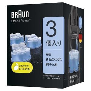 ブラウン クリーン&リニュー専用洗浄液(3個入り) CCR3CR...