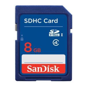 サンディスク スタンダード SDHCカード CLASS4 8GB 〔SDSDB-008G-J01〕|emedama