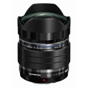 オリンパス M.ZUIKO DIGITAL ED 8mm F1.8 Fisheye PRO ブラック emedama