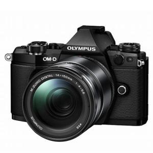オリンパス E-M5 MarkII 14-150mm II レンズキット ブラック...