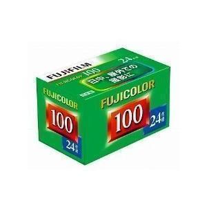 フジフイルム フジカラー FUJICOLOR 100 S 24枚撮り 単品 《納期約1−2週間》