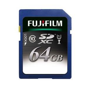 フジフイルム SDXCカード 64GB SDXC-064G-C10U1 [UHS-1(Class10)]|emedama